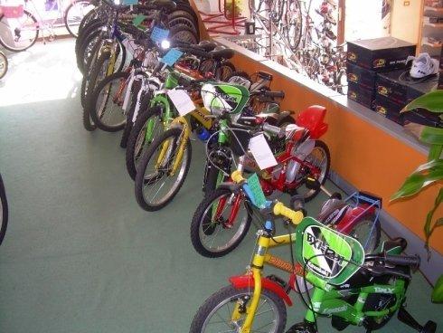 biciclette con rotelle
