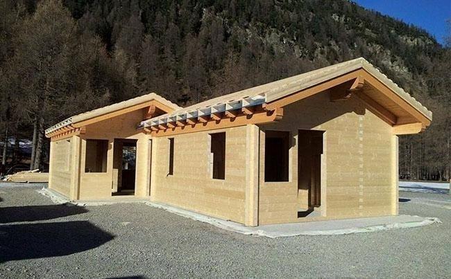 Vendita case in legno ornavasso verbania bionda legnami - Casa in legno economica ...