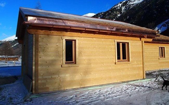 Bionda Legnami - Verbania - Ornavasso - Case in legno blockhaus