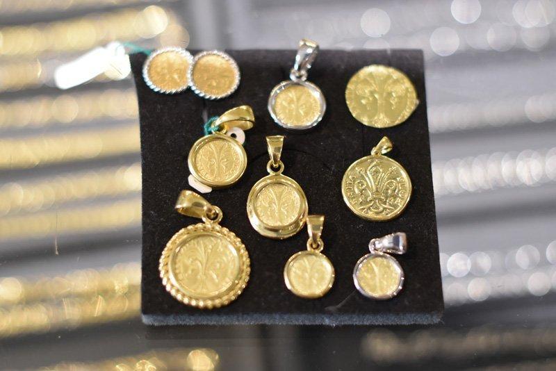 Ciondoli con monete antiche
