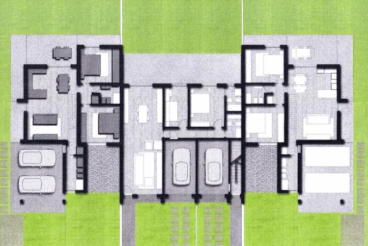 mappa degli appartamenti in costruzione