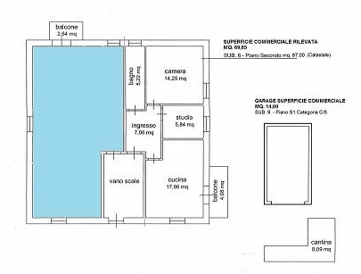 mappa appartamenti
