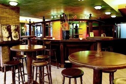 interno di un pub irlandese