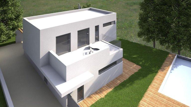 progetto di costruzione di una villa