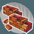 mattoni per muro