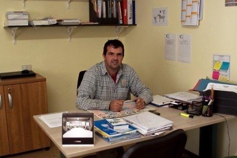 Il titolare della ditta Canzonetti Edilizia Snc, il Signor Canzonetti Lorenzo.