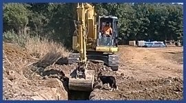 ruspa per scavi