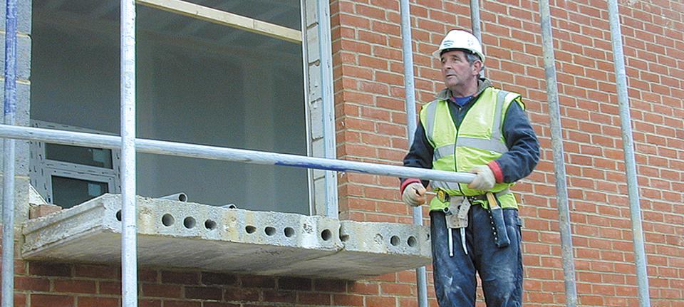 contractor looking