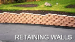 modular block retaining walls