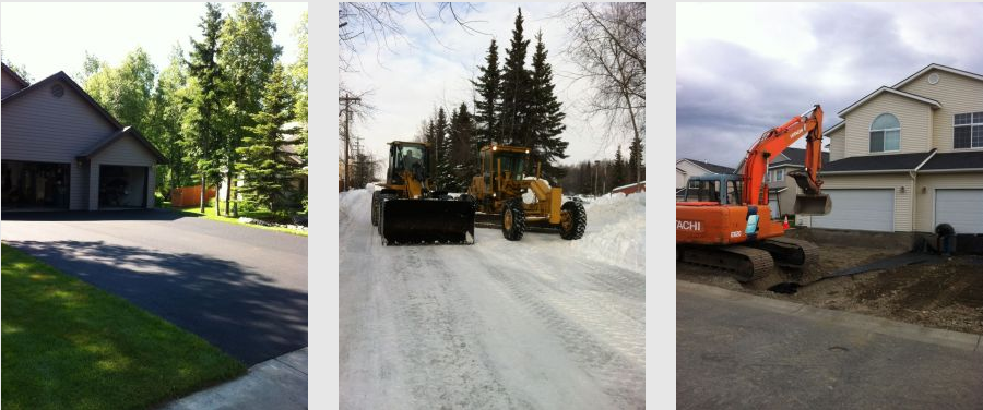 paving services in Anchorage, AK.