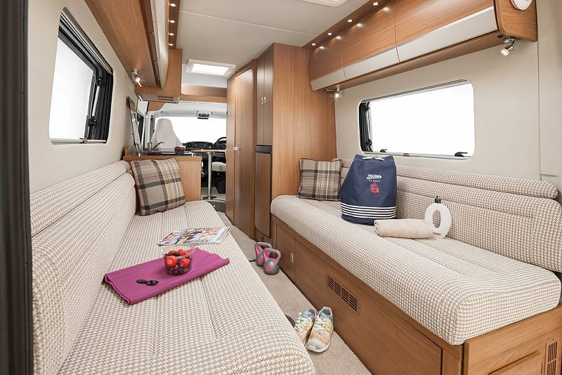 motorhome campervan UK for hire Auto Trail V Line 635