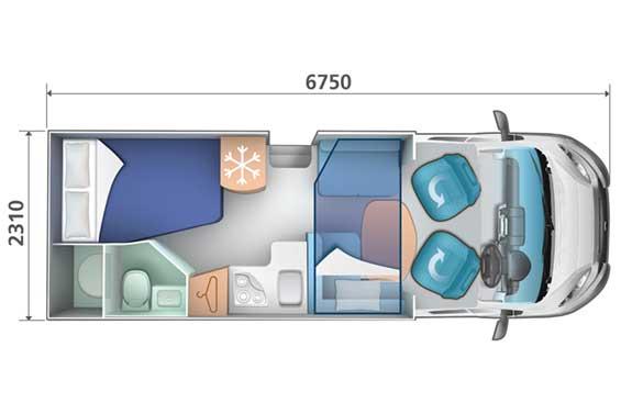 camper vans for rent - ar 694