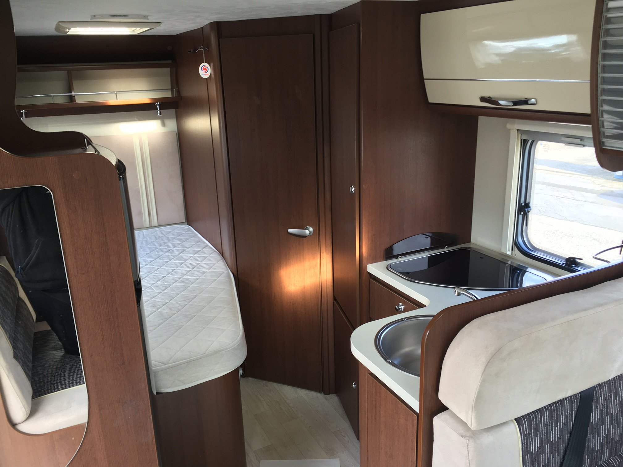4 berth motorhome for sale second hand roller team 694