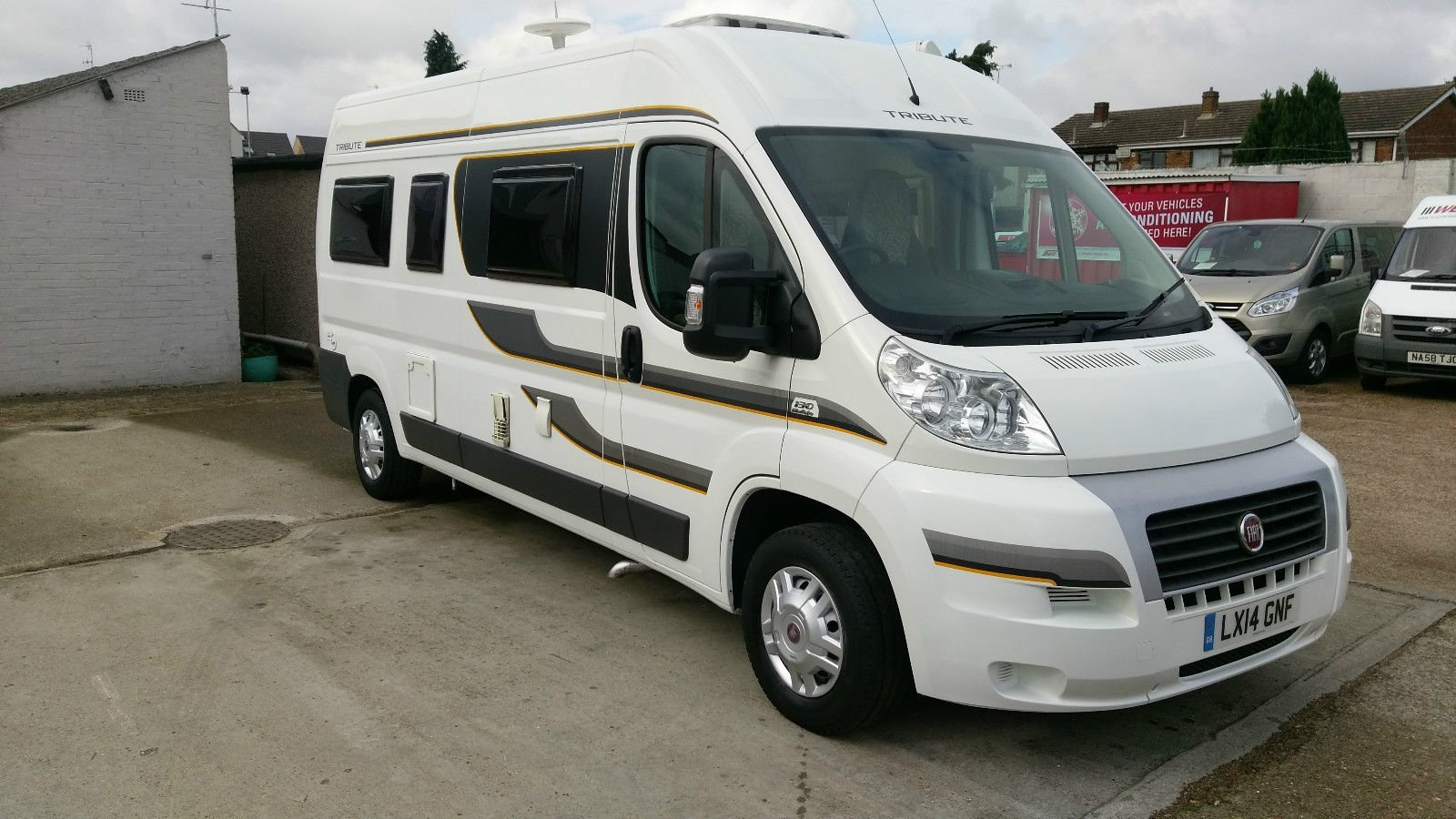 Auto-trail Tribute 670 2 berth used motor home camper van for sale at Wests Motorhome Hire UK