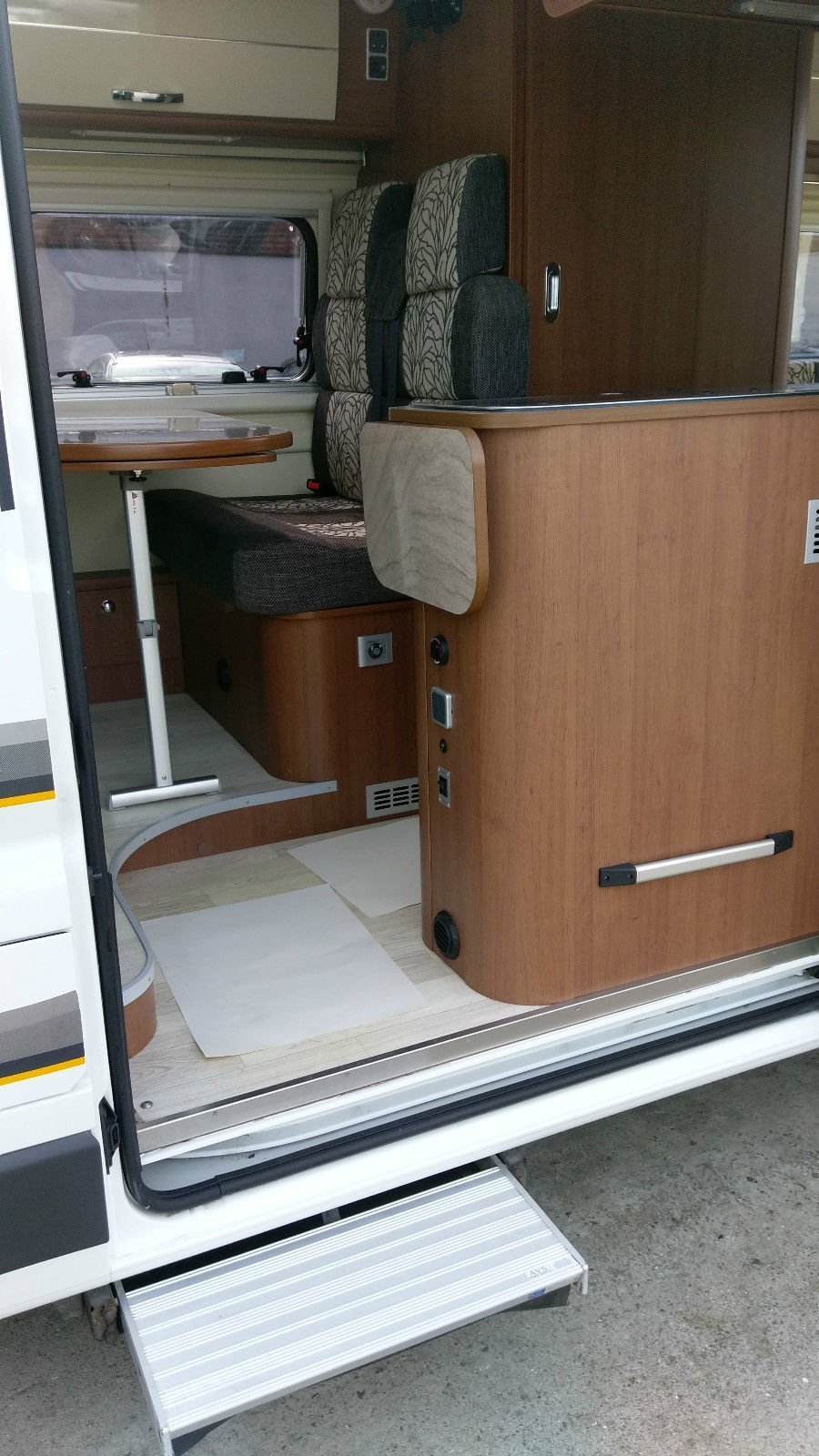 Auto Trail Tribute used motorhome camper van for sale at Wests Motorhome Rental Company