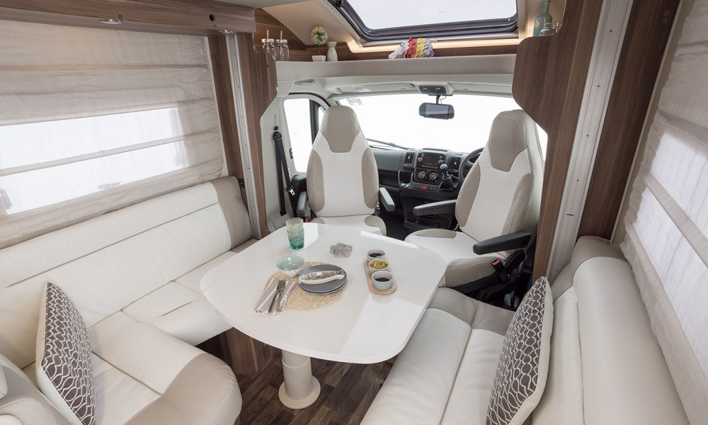 4 Berth Automatic Campervan Hire From Wests Motorhome Hire Uk