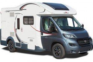 4 Berth Campervan Hire From Wests Motorhome UK