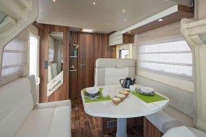 T Line 590, 4 Berth Camper Van Motorhome For Rental