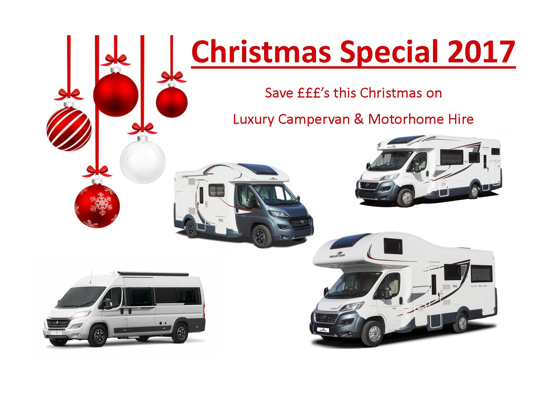 motorhome rental christmas