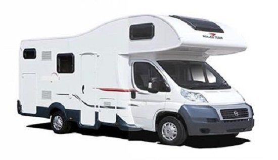 7 berth campervan hire