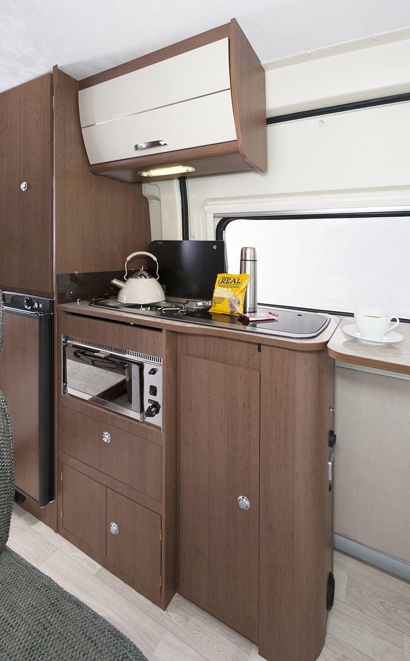 campervan hire with kitchen
