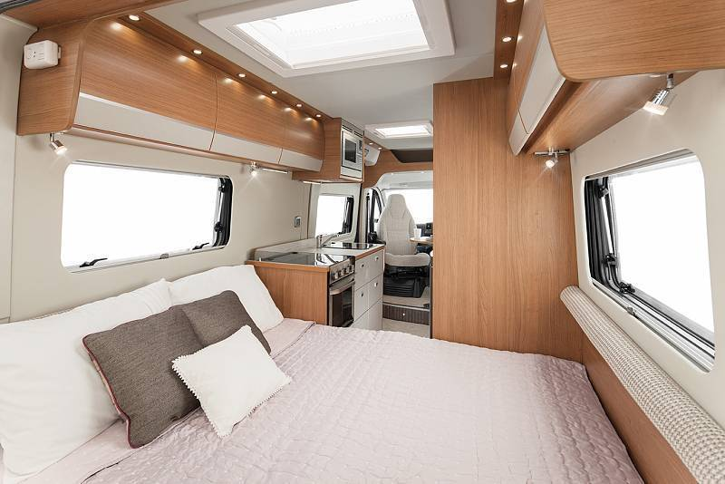 2 Berth Luxury Campervan Hire From Wests Motorhome Hire Uk
