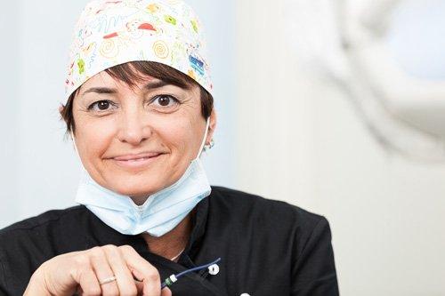 foto della dottoressa comi