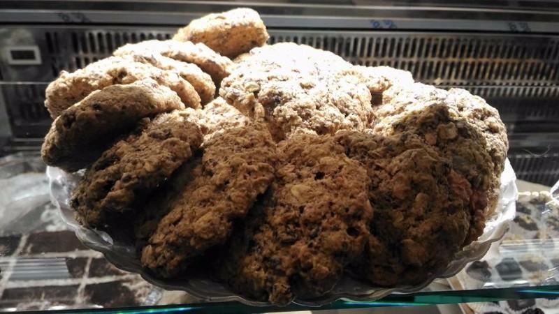 Dei biscotti al cioccolato