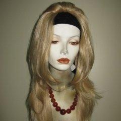 parrucca bionda, parrucca liscia, biella