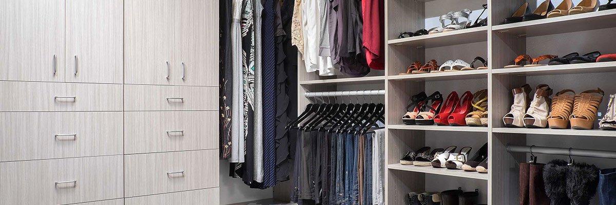 Custom Closet System Installation