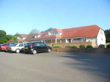 Sedlescombe golf club building view