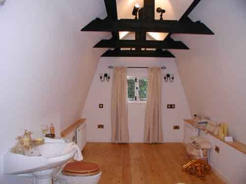Interior view of the bexhill cottage