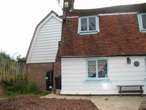 Exterior view of the bexhill cottage