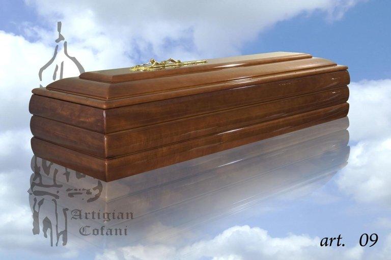 una bara di legno