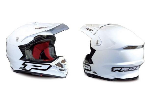 caschi per motocross