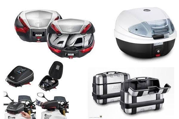 attrezzature motocicletta