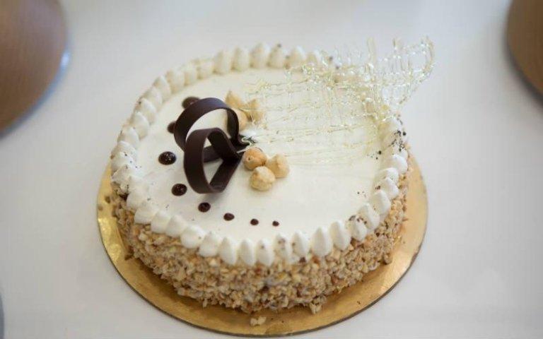 Torta gelato decorata