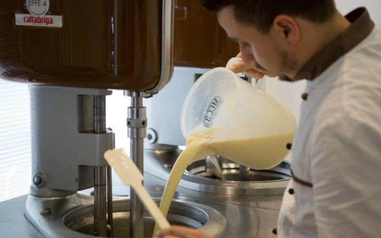 Preparazione gelato