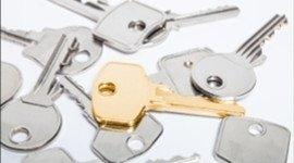 chiavi dorate e argentate