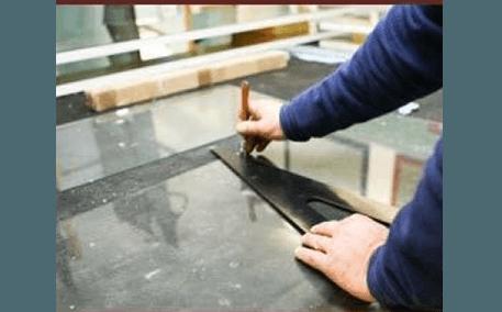 taglio vetri su misura