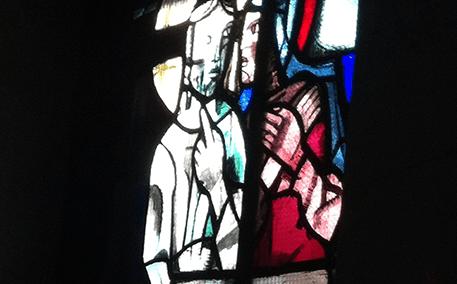 realizzazione vetrate colorate