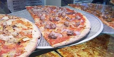 pizze al piatto e al taglio