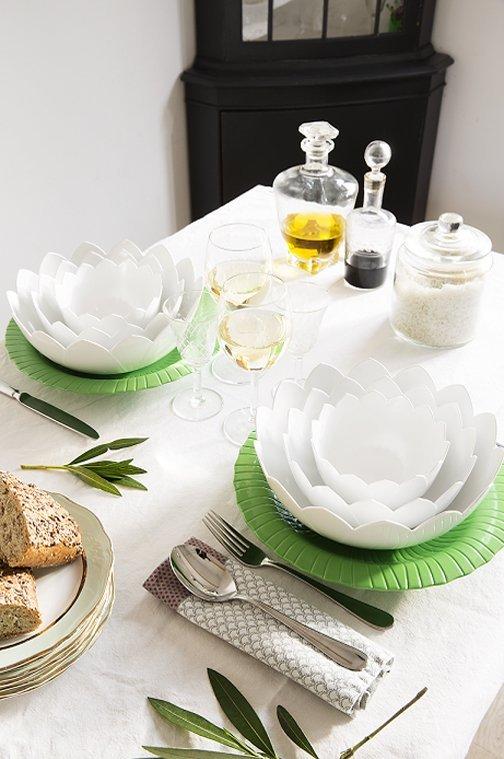 Vaso moderno e accessorio per illuminazione