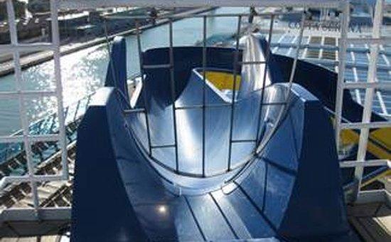 arredamento navale_cancello per scivolo_Costa Serena