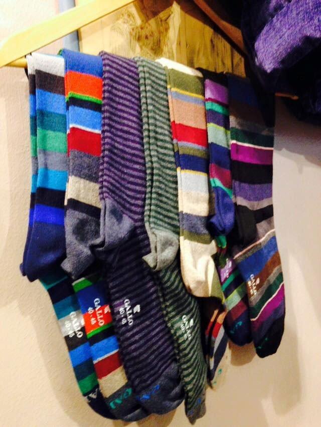 calze uomo colorate