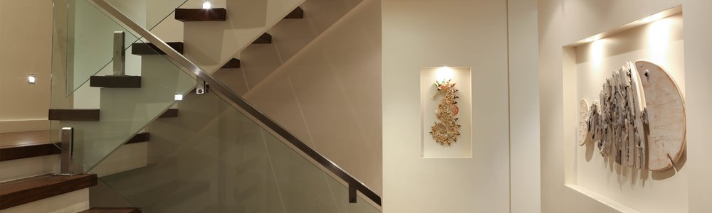 the saver group led lighting in staircase