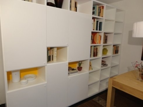 libreia componibile, libreria a misura