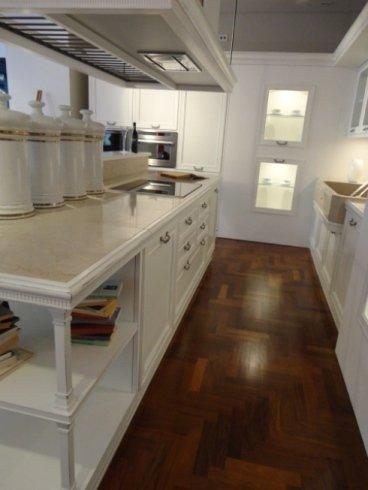 la loggia copat, cucina classica, cucina isola