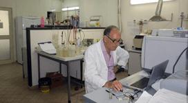 analisi chimiche su rifiuti industriali