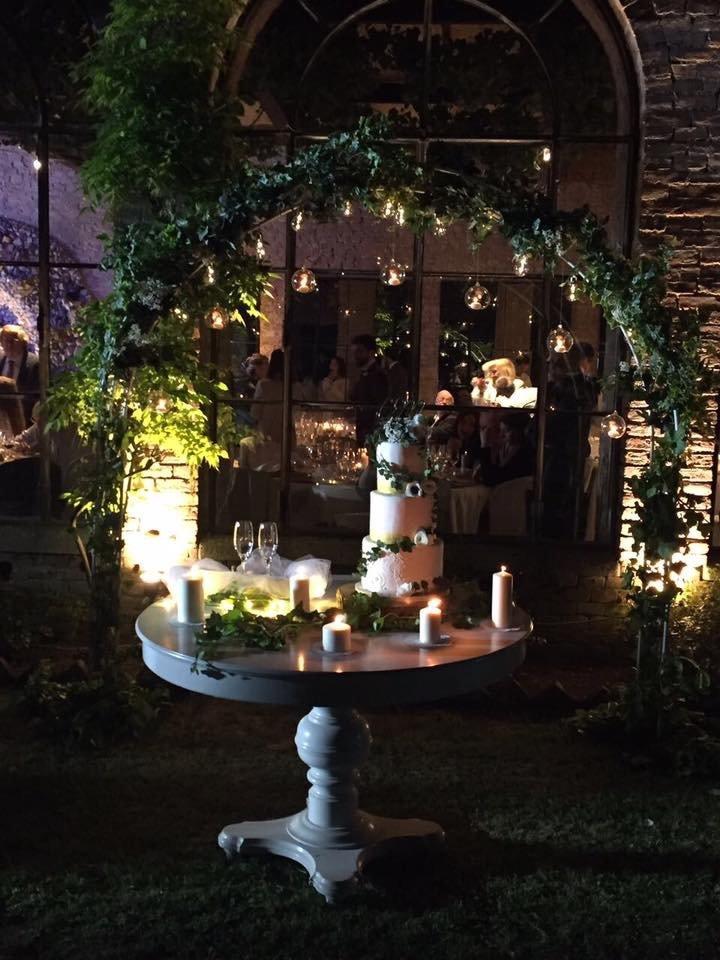 giardino allestito pe cerimonie
